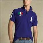 Camisa Polo Azul Italy Ralph Lauren - Cod 0037